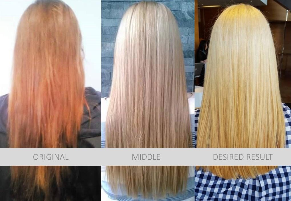 Color Correction Hair Model, Dosha Salon Spa